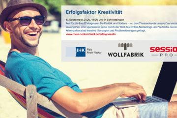 IHK Rhein-Neckar: Veranstaltung Erfolgsfaktor Kreativität